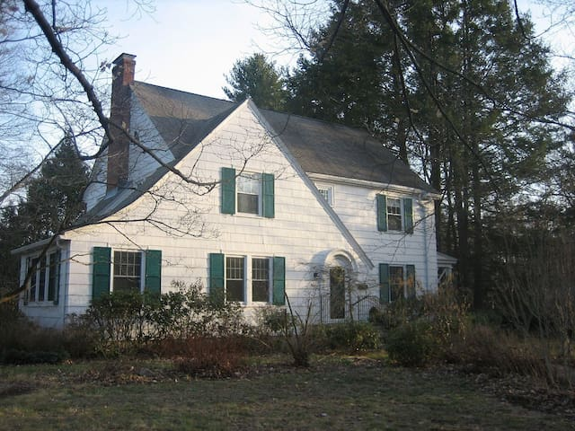 Spacious comfy well equipped house & happy gardens - West Hartford - Ev