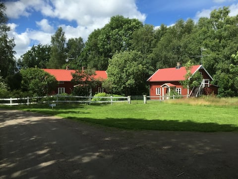 Traditional house in beautiful Swedish countryside