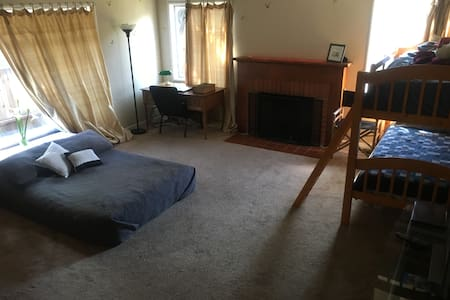 Spacious Room near Downtown/Shopping - Santa Cruz - Talo