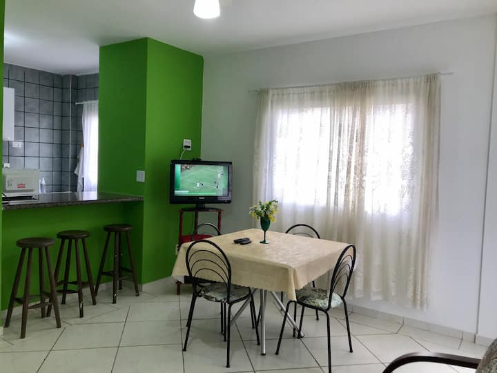 Apartamento Aconchegante na Praia do Morro