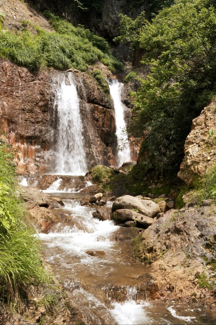 The Waterfall under the Yudono Shrine