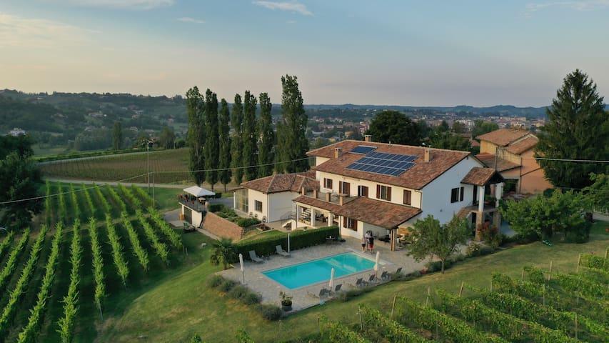 Vineyard apartment - Piemonte