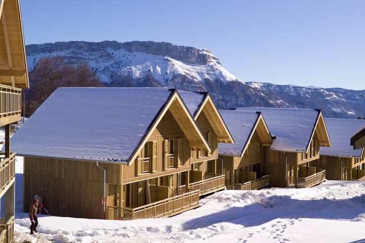 Joli Appart duplex 6p, près des pistes ski de fond