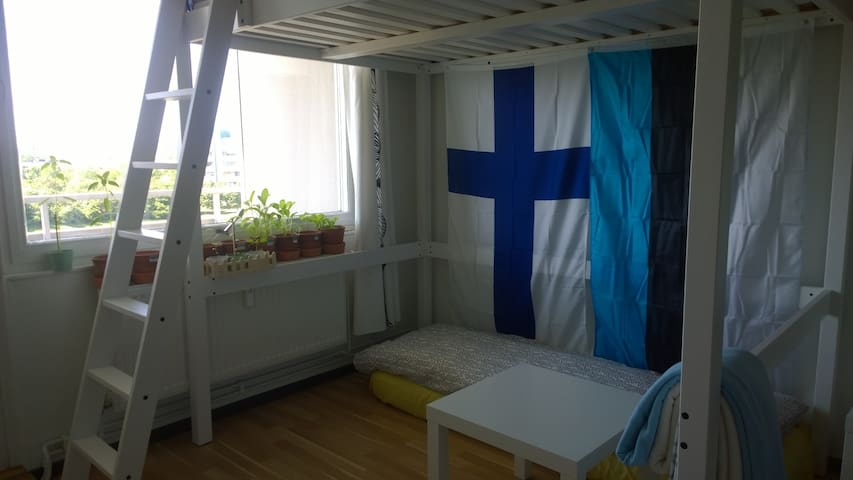 Shared room which make you feel home - Malmö - Apartamento