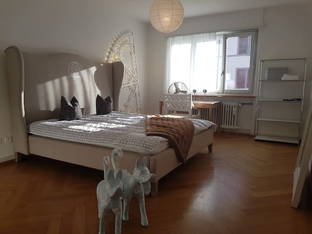 Your three room flat with balcony and Wifi - Zürich - Appartement en résidence
