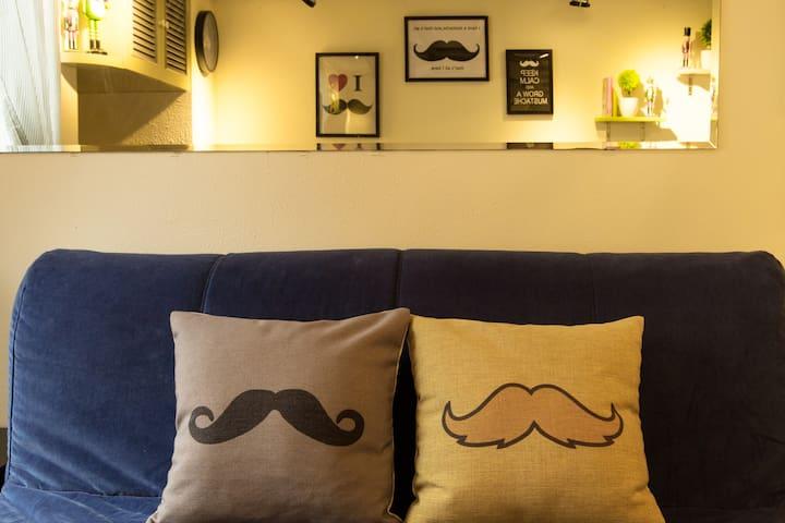 The Mustache house @Ximen MRT(2~4ppl)