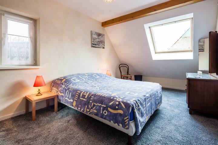 Chambre 2 lit double 140 cm