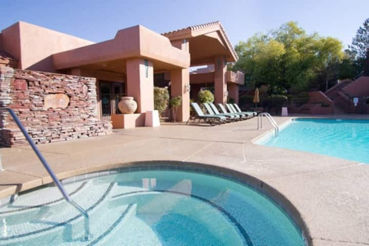 Resort vacation to remember in beautiful Sedona.