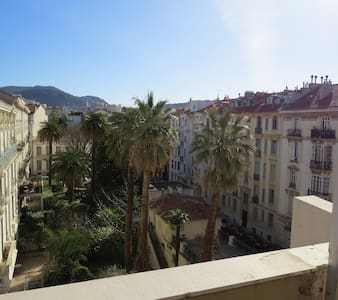 Superb studio  32sqm terrace centra - Nizza