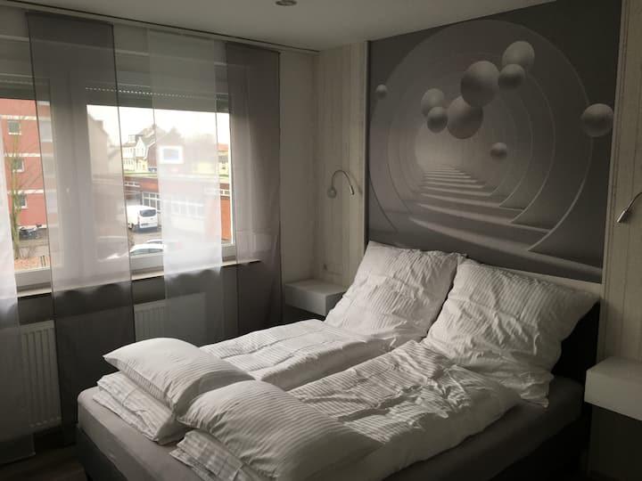 Messe-Hotelzimmer/Einzimmerappartement  Zimmer 202