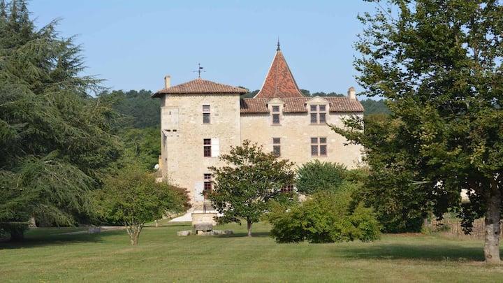 Château de Cauderoue à Nérac - Bed & Breakfast