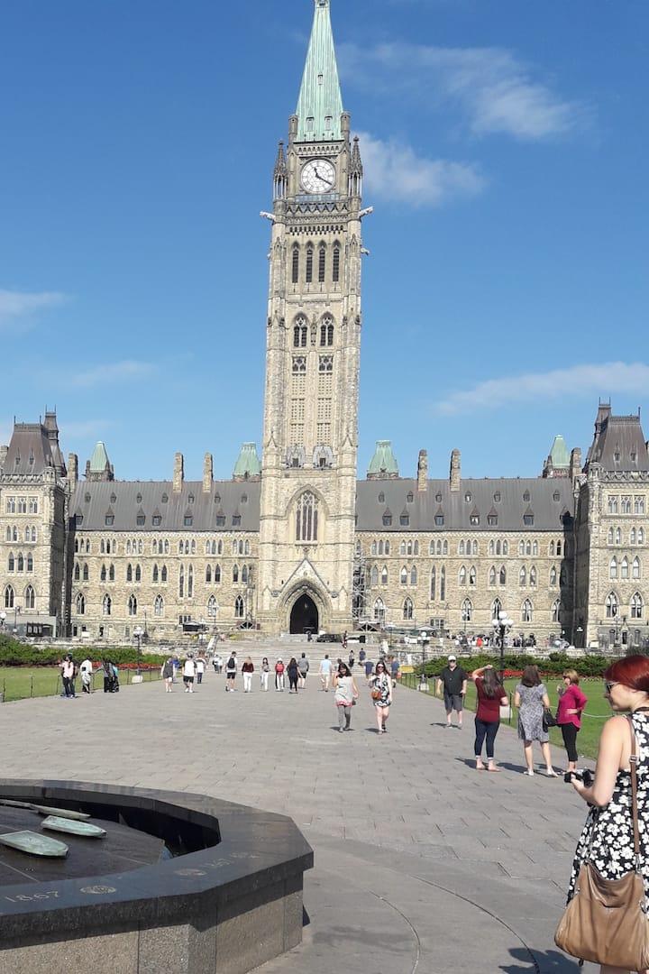 Canada's White House: Parliament Ottawa