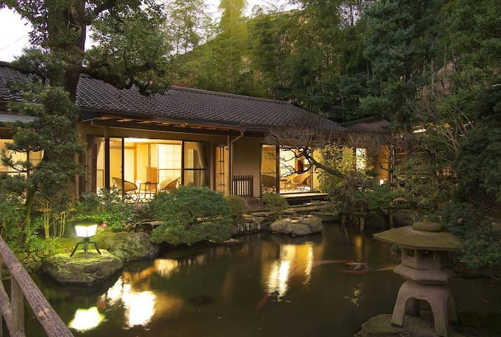 【From 2 pax】HAKONE Japanese style ONSEN RYOKAN Breakfast and Dinner Included