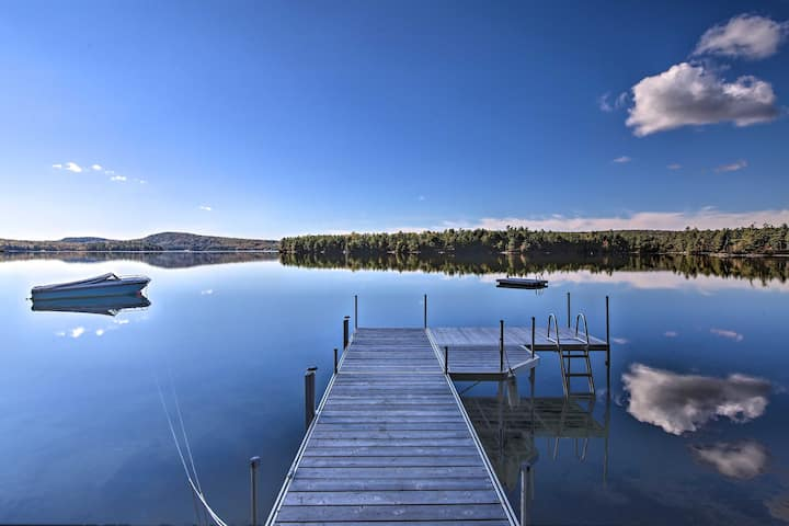 NEW! Lakefront Home w/ Deck, Dock & Water Access!