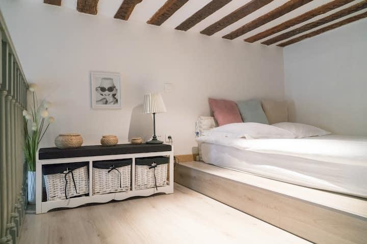Cozy loft for 3P Paris Center Marais
