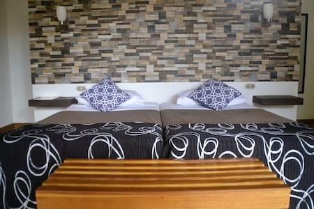 Double Deluxe room - Puerto Viejo de Talamanca - Sommerhus/hytte
