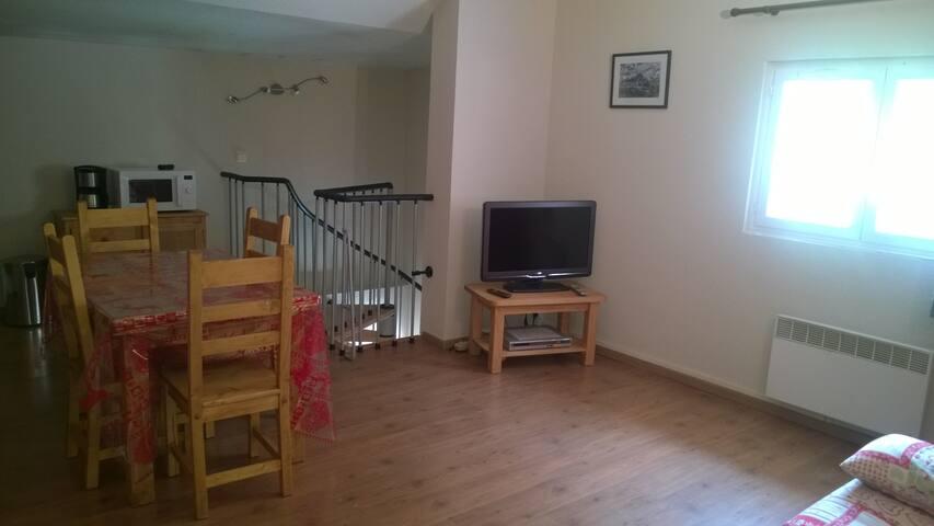 La grande pièce à vivre