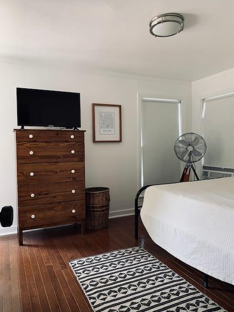 Apartamento elegante adjacente al hogar por Bishop Arts
