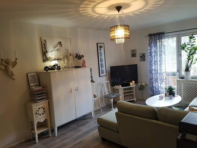 Cozy apartment close to Arlanda and Sthlm City :)