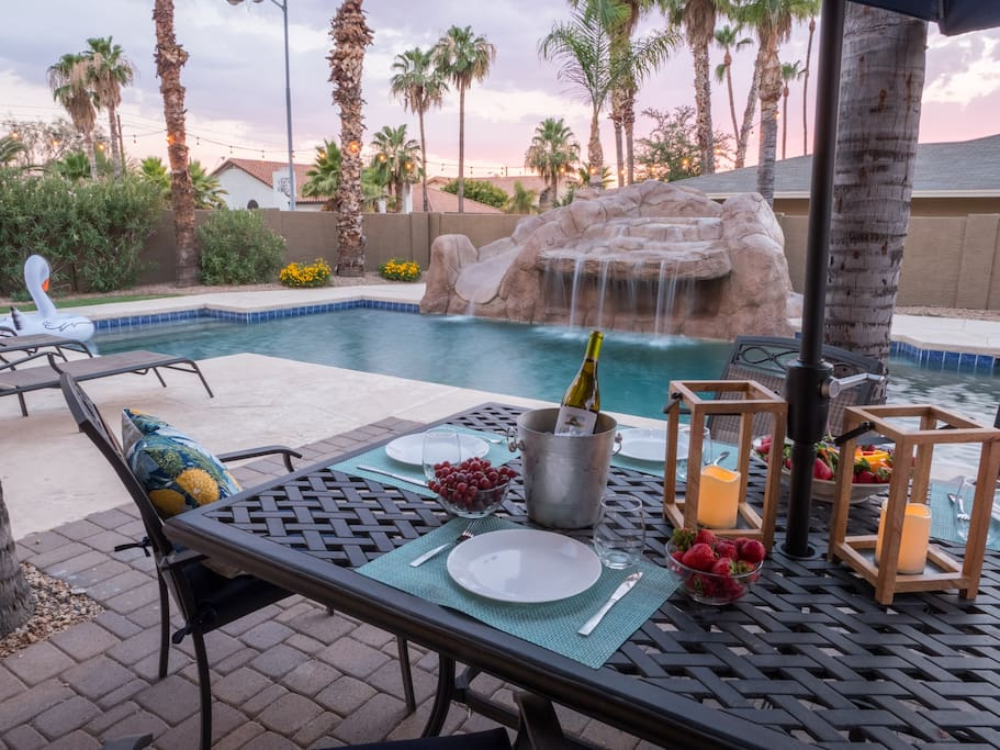 Sit back, relax, and enjoy the sunny days in Scottsdale, Arizona.