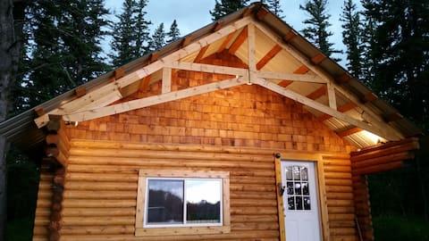 Log cabin in beautiful Alberta on the James River