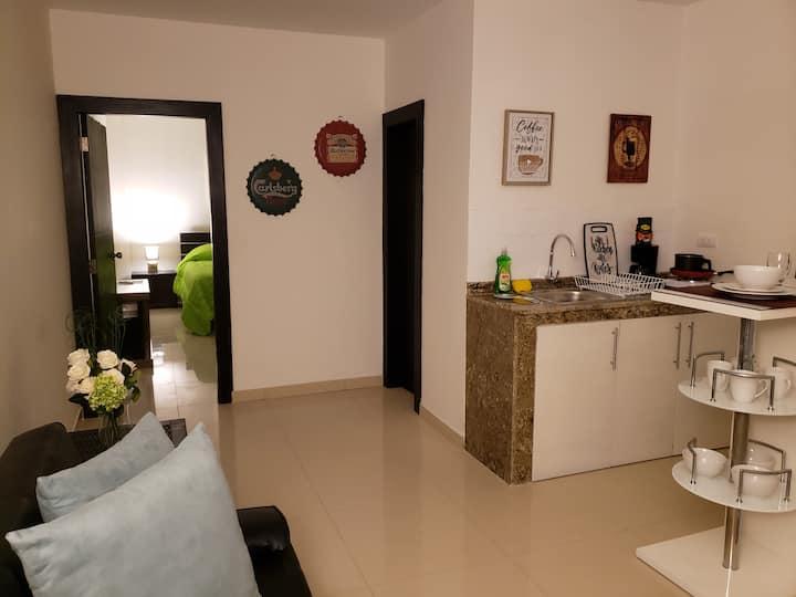 Suite amoblada en Vía a la Costa