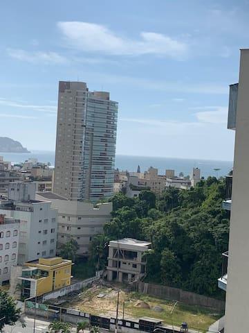 Apto no Guarujá  vista para o MAR! Praia Enseada