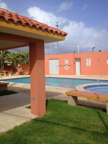 Gazebo and little pool for kids