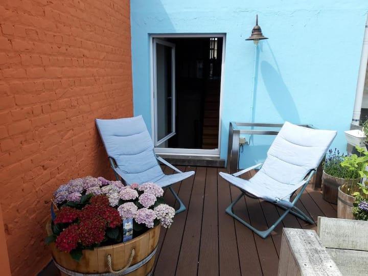 Duplex 2+1 personen Blankenberge Haven/Zee/Markt