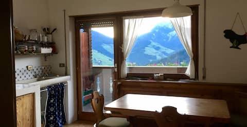 Appartamento Ciornadu nel cuore delle Dolomiti