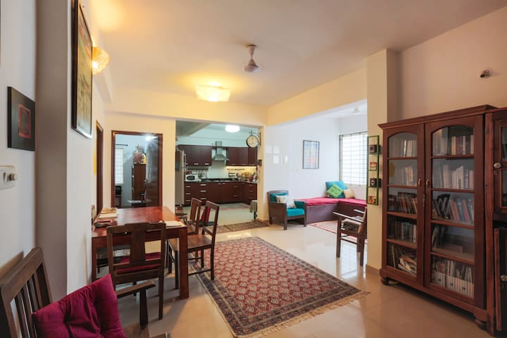 A stay among art and an artist! - Bangalore - Appartement