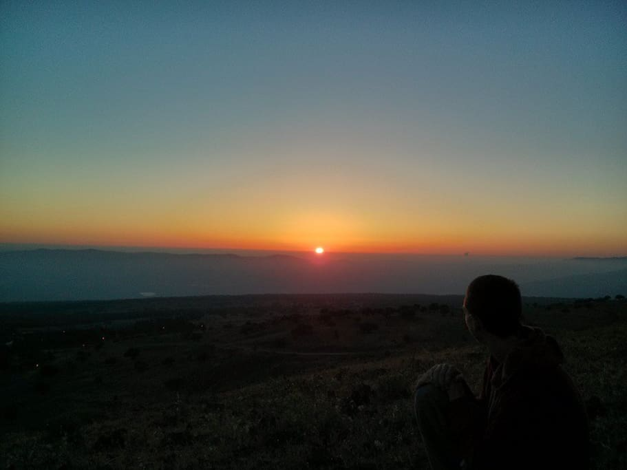 Sunset from Mt. Odem