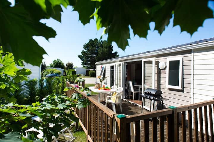 Exzellenz, mit 2 Schlafzimmern (6 pers) +Terrasse