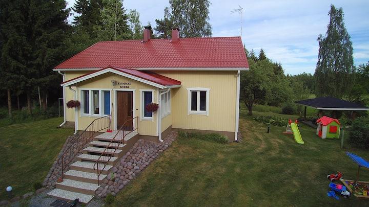 High quality vacation house Kommee Kurki for 6