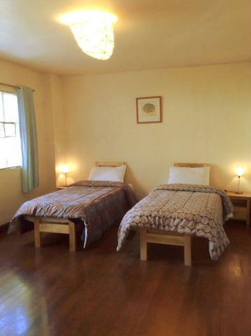 Twin room with two single beds (2)