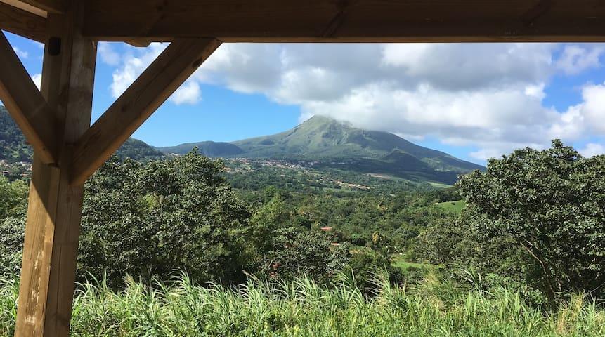 Bungalow à flanc de montagne - Le Morne Rouge
