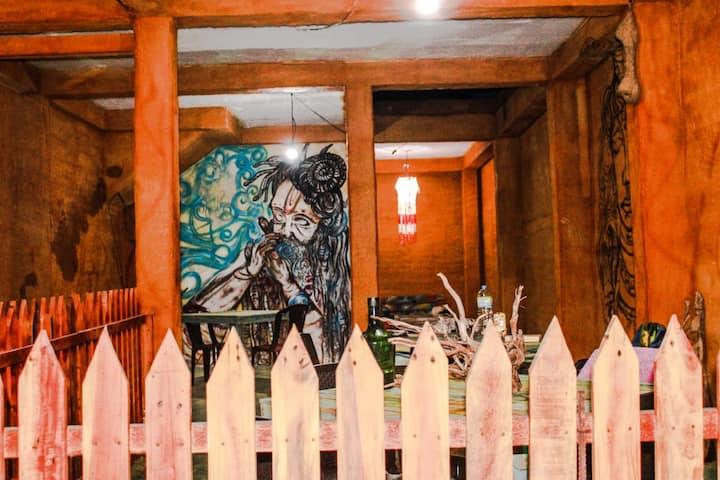 Madiha Ceylon Hostel Deluxe Double Room