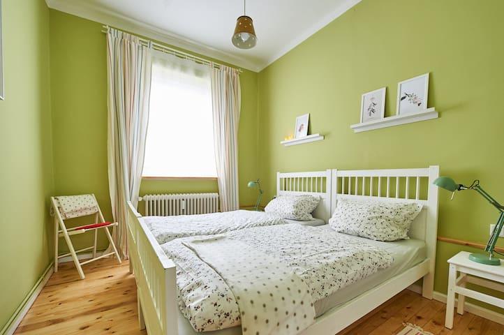 Hübsche, ruhige Wohnung im Viertel - Bremen - Apartemen