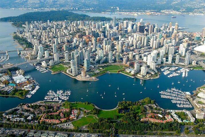 Wonderful Room in Vancouver Zone 1 + Breakfast