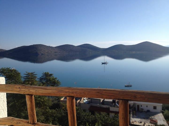 Marilena Panoramic Sea View House /Andonia Rocky