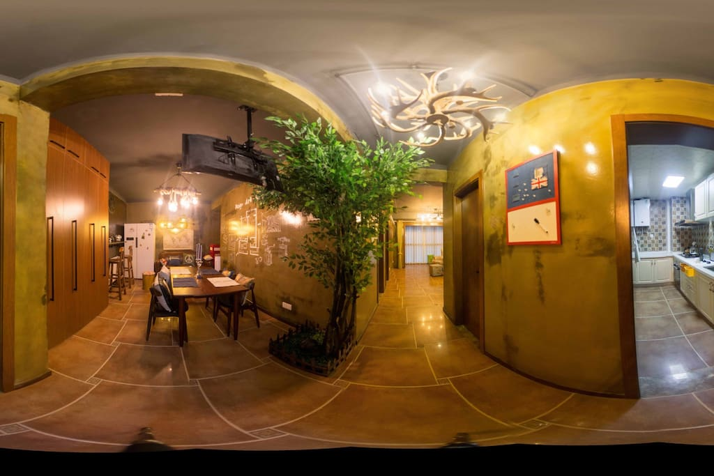 门厅全景图。