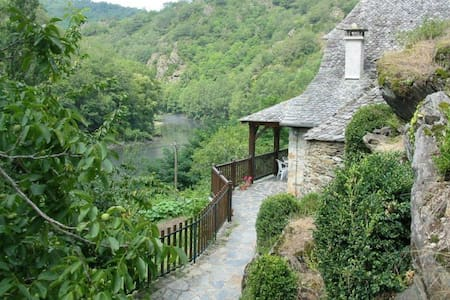 Traditional detached stone cottage & private pool - Vieillevie