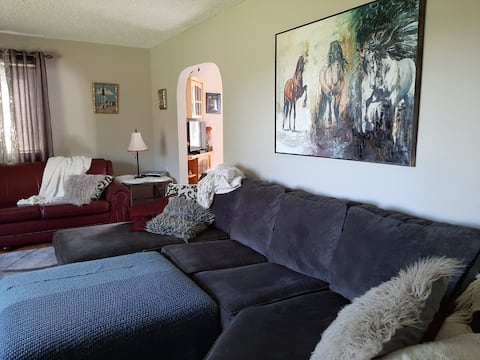 Family rental: all available rooms spaces