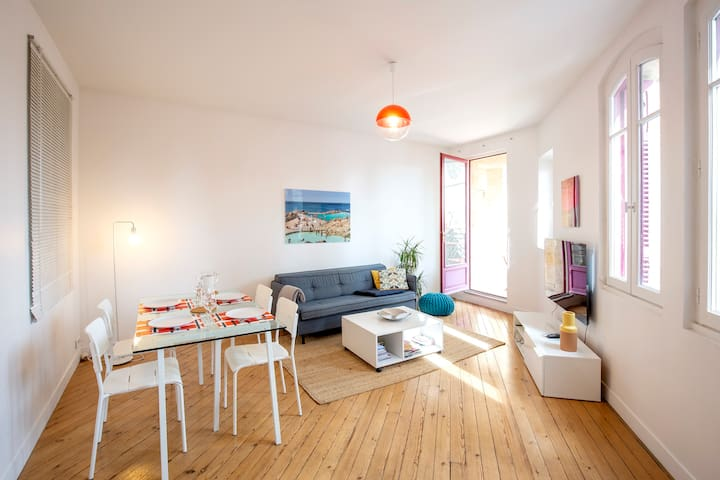 HEART OF BORDEAUX - Apartment with view + parking