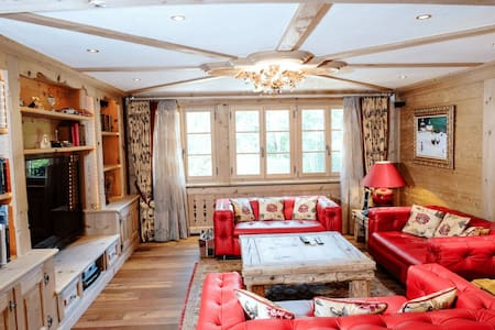 Luxury interior and spacious rooms - Saanen