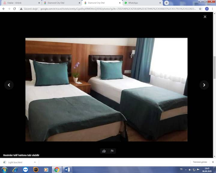 Diamont city Hotel Marmara  Sea DBL or TWN