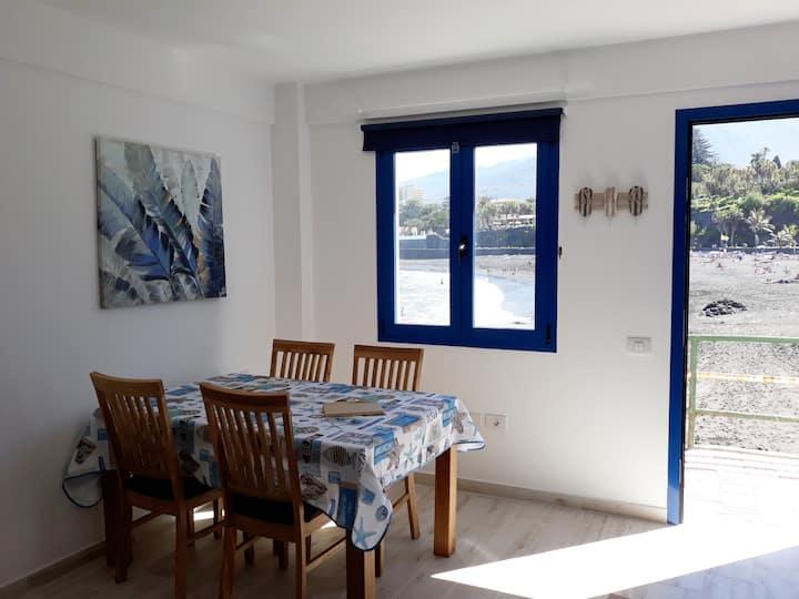 Apartamento junto al mar (WIFI) (1D)