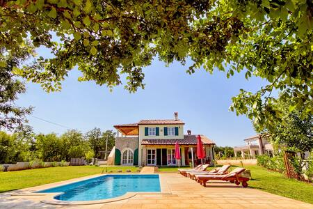 Villa Bella, with private pool near Rabac - Hreljići