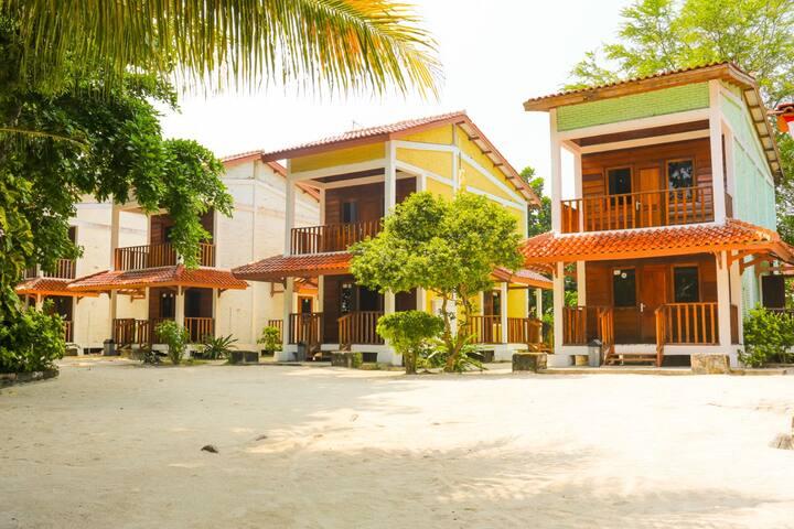 Pramuka Island, Kepulauan Seribu. Room2
