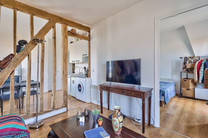 Cute 1-Bedroom Apartment Close To Sacré-Coeur